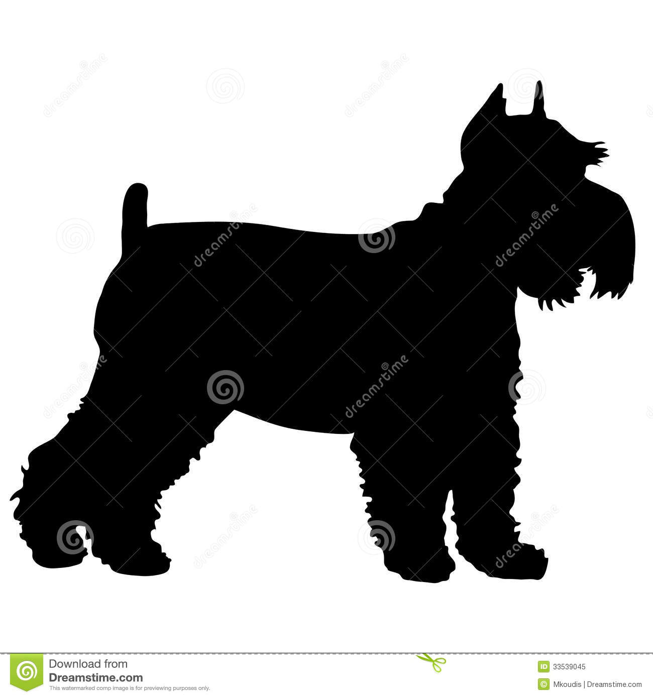 Schnauzer Silhouette Stock Photos, Images, & Pictures.