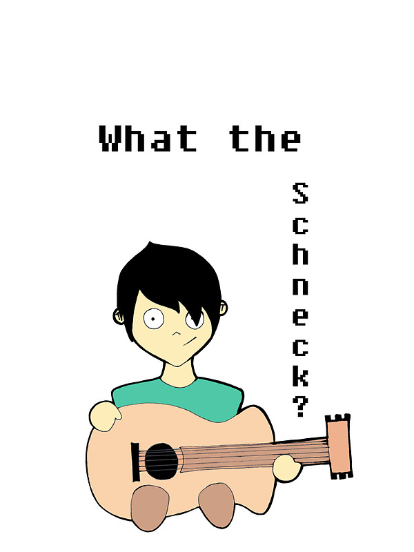 """What the Schneck?"""" Stickers by Melodia."""