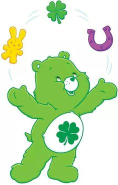 Care Bears Good Luck Bear Star.