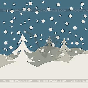 und Schnee.