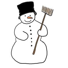 Funny Snowman Clip Art #jBEcF6.