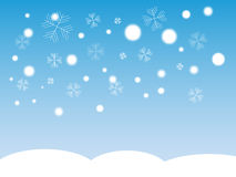 Schneeflocke.