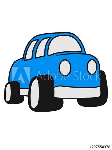 comic cartoon auto raser schnell fahren rennauto flitzer gas.