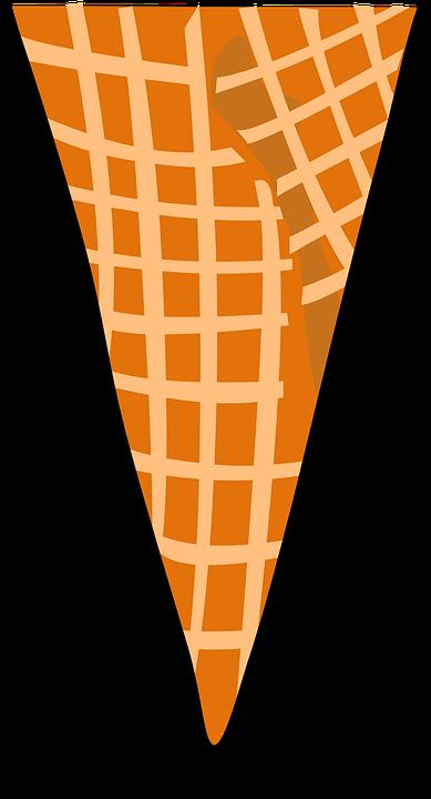 免费矢量图: 锥, 华夫, 食品, 冰淇淋, 甜, 夏季, 清爽.