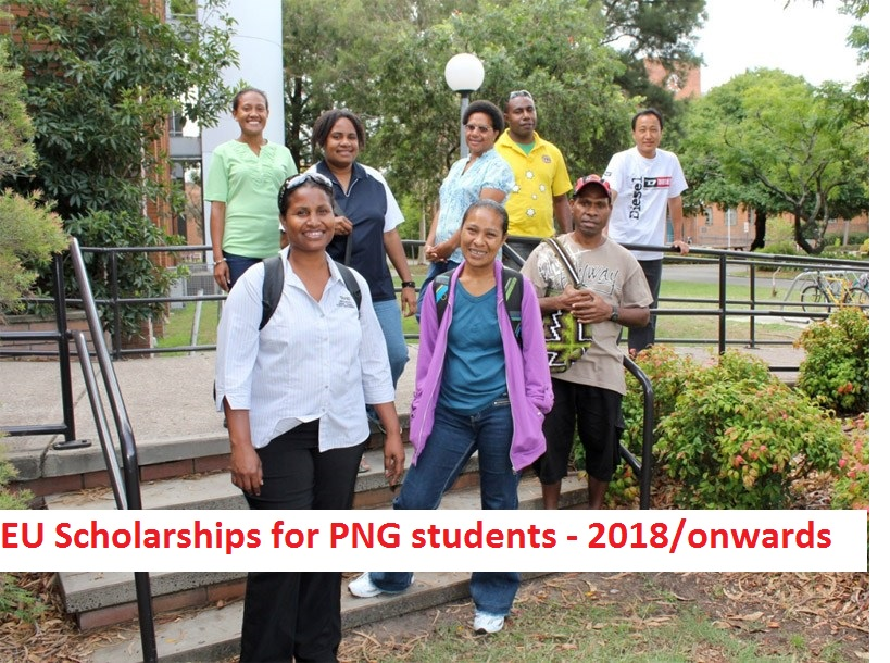 Kaulga\'s Travel Diary: EU Scholarships available for Papua.