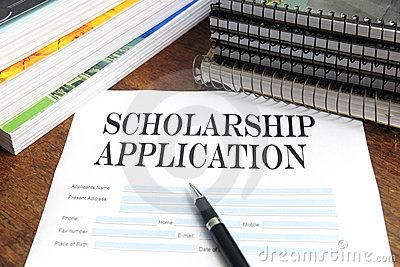 Scholarship Application.