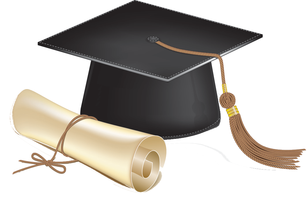 Scholarship Hat PNG Image.