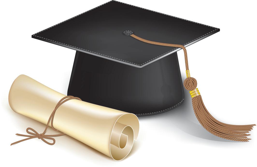 Scholarship Hat PNG Image.