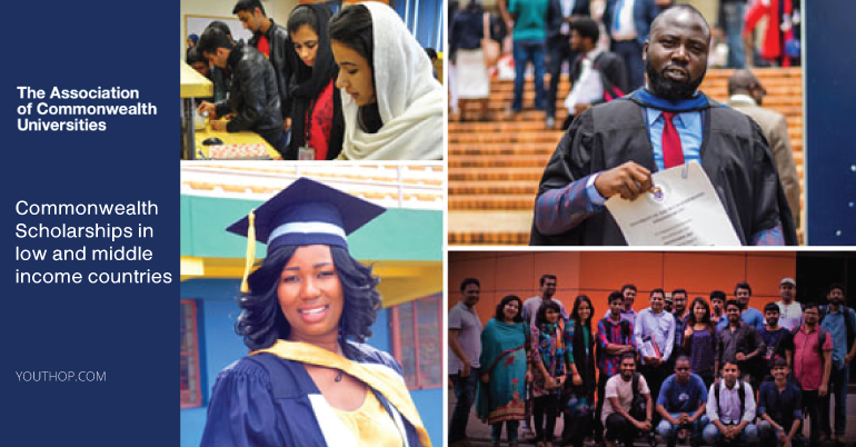 Queen Elizabeth Commonwealth Scholarships 2019.