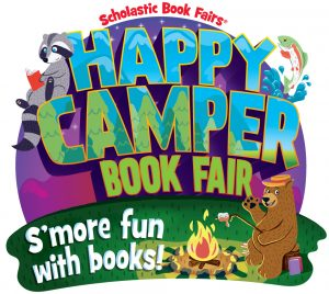 Happy Camper Scholastic Book Fair.