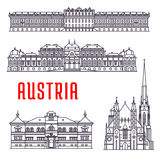 Schonbrunn Stock Illustrations.