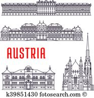 Schonbrunn Clipart Vector Graphics. 5 schonbrunn EPS clip art.