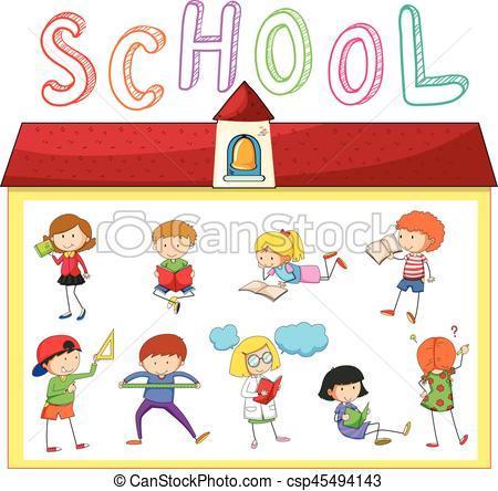 Activities in school clipart 3 » Clipart Portal.