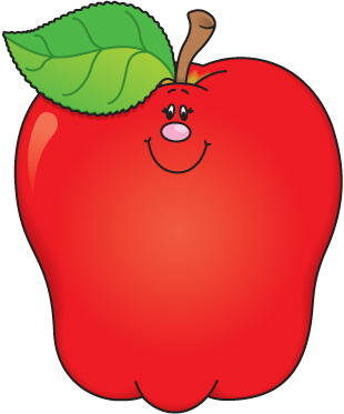 School apple clipart 3 » Clipart Station.