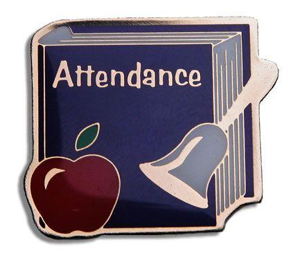 School Attendance Clip Art.
