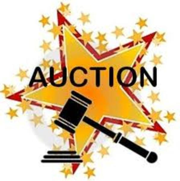 Silent Auction Clipart.