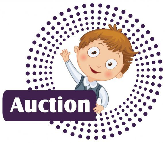 Auction clip art from PTO Today..