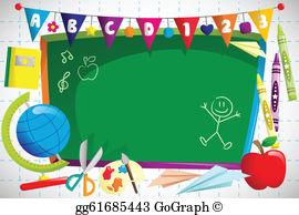 School Background Clip Art.