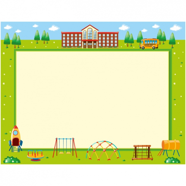 School background design Vector.