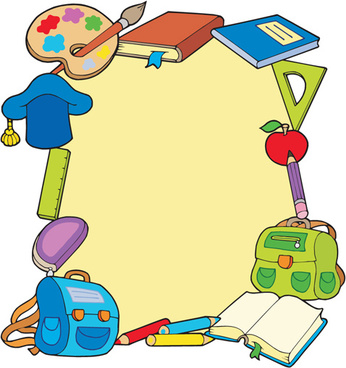 School clipart backgrounds 5 » Clipart Station.
