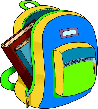 School backpack clipart free clipart images 4.