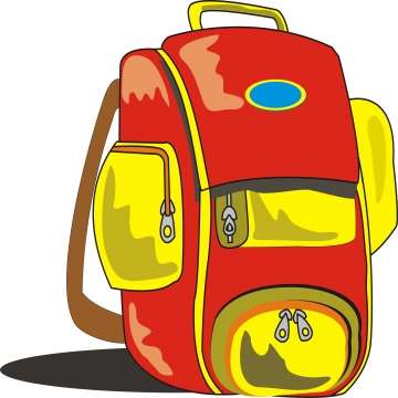 School Bag PNG Images.