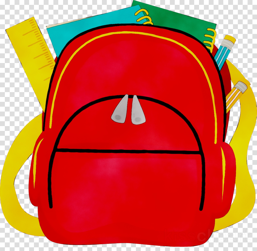 Backpack Cartoon clipart.
