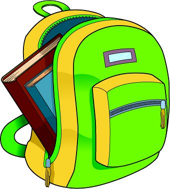 School Bag Clipart Clipart Suggest.