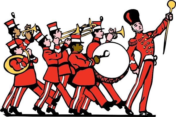 Marching Band clip art (114254) Free SVG Download / 4 Vector.