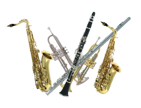 School Band Clipart.