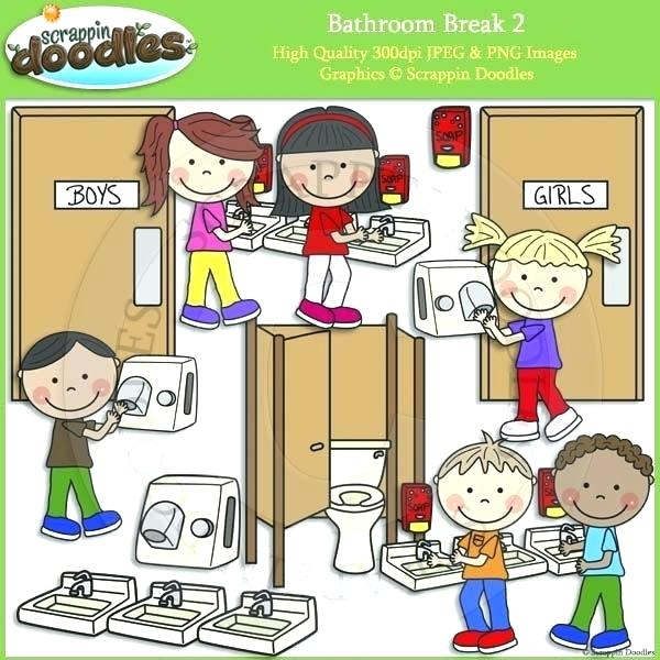 School bathroom clipart 3 » Clipart Station.