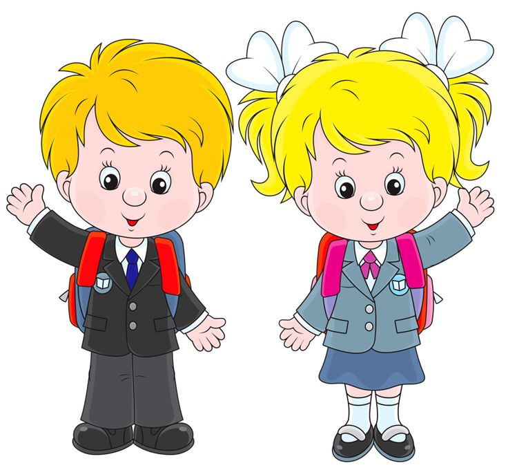 School boy and girl clipart 4 » Clipart Station.