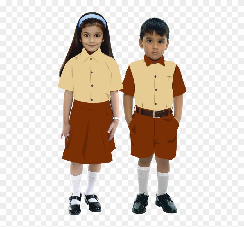 School Boy And Girl School Boy And Girl.