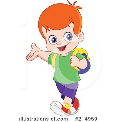 School Boy Clipart #214959.