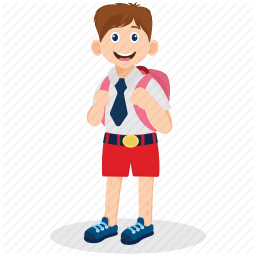School Boy Png Vector, Clipart, PSD.
