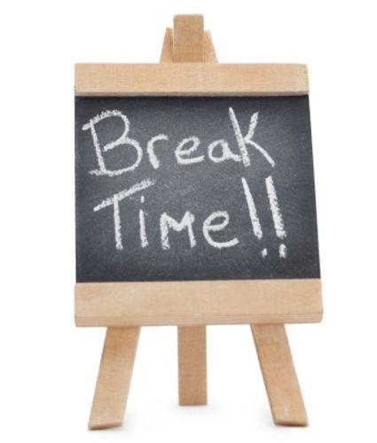 school break time clipart