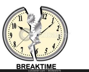 School Break Clipart.