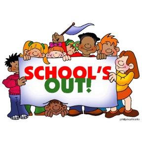 School Break Time Clipart.
