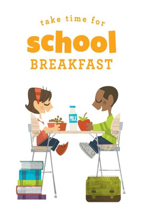 Clipart Breakfast School.