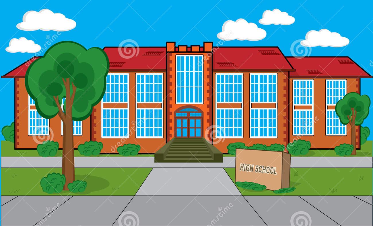 42+ School Building Clip Art.