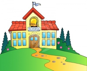 School Building Clipart Free.