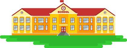 18+ School Building Clipart.
