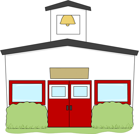 School Building Clipart Free.
