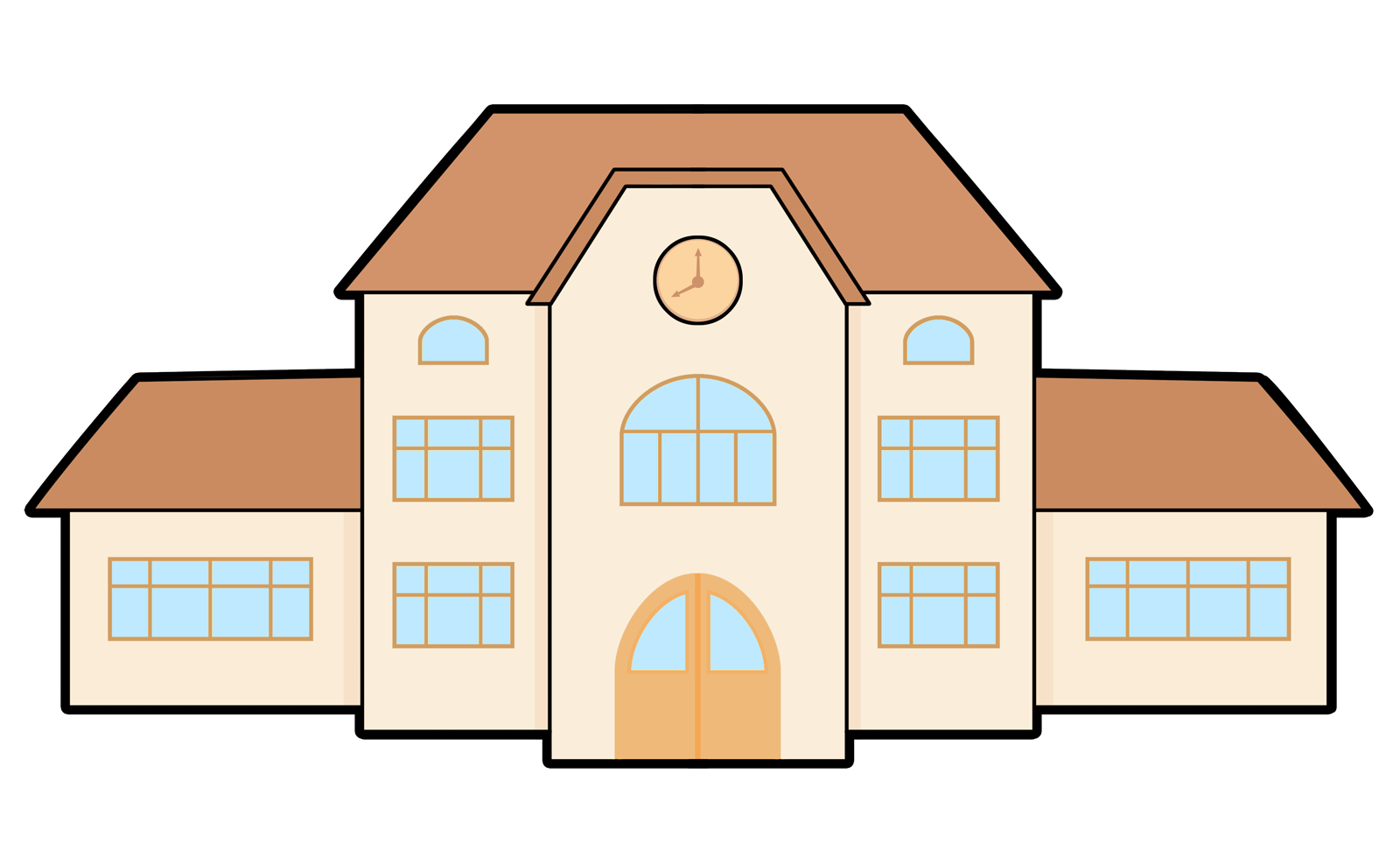 School building Clip Art.