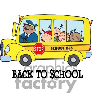 School Bus Clip Art For Kids.