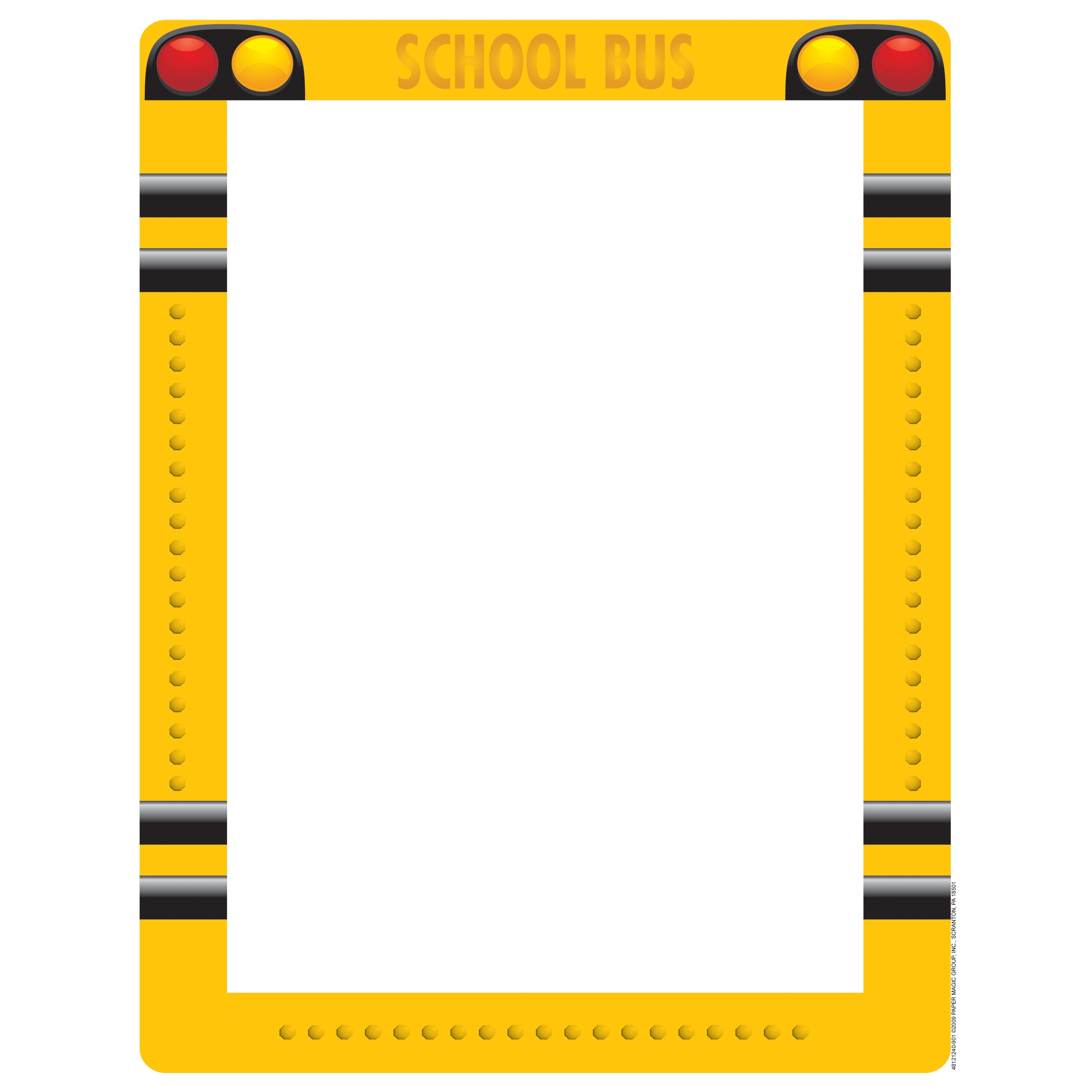 School Bus Border Clipart.
