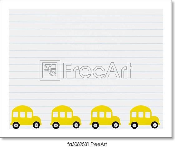 Free art print of School Bus.