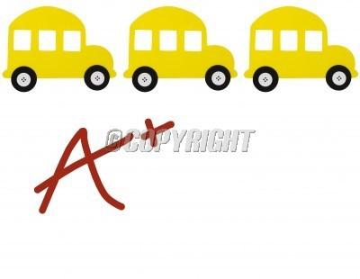 School Bus Border Clip Art.