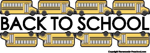 Free school bus clipart 4.