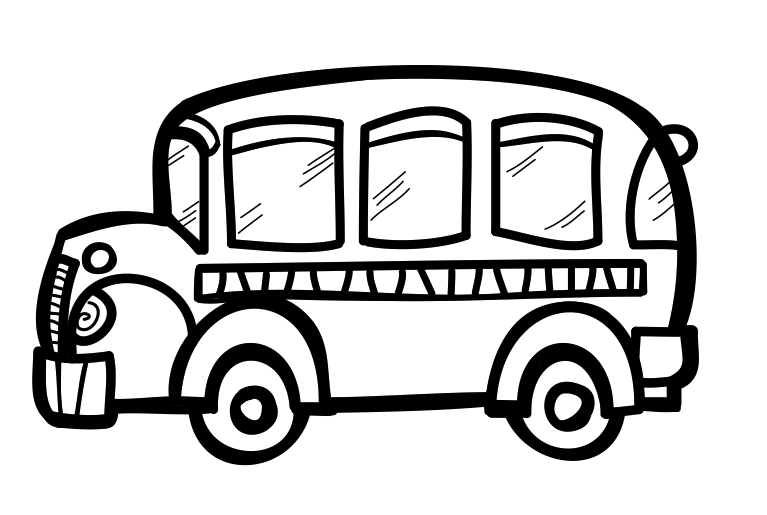 School bus black and white school bus black and white.